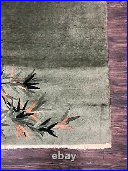 APPROX 1920's ANTIQUE ART DECO CHINESE NICHOLS RUNNER RUG 2.7x7.8 LOWEST PRICES
