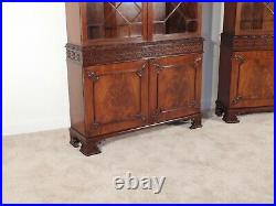 Baker Stately Homes Penhurst Flame Chinese Chippendale Cabinet (pair available)