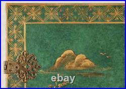 Cabinet Chinoiserie Decorated Bar Or Television Cabinet, Gorgeous