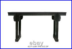 Chinese Vintage Zitan Wood Altar Console Table cs610