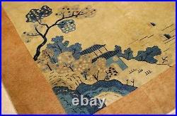 Circa 1910's ANTIQUE ART DECO CHINESE WALTER NICHOLS RUG 8.1x9.7 ROOM SIZE
