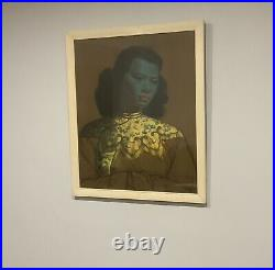 Original Iconic print The Chinese Girl By Vladimir Tretchikoff Framed
