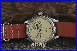 Regulator Wristwatch Chinese Numerals Mechanical China Friendship+Leather Strap