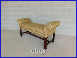 Thomasville Chinese Chippendale Style Window Seat Bench