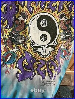 VTG Grateful Dead 1991 T Shirt XL Chinese New Year Tie Dye Vintage Original
