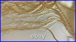 Vintage Embroidered Silk Chinese Piano Shawl WW36