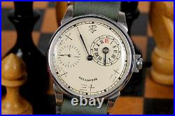 Vintare Regulator Wristwatch Chinese Numerals Mechanical Leather Strap