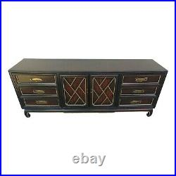 Vtg American of Martinsville Chinese Chippendale Ming Asian Inspired Dresser